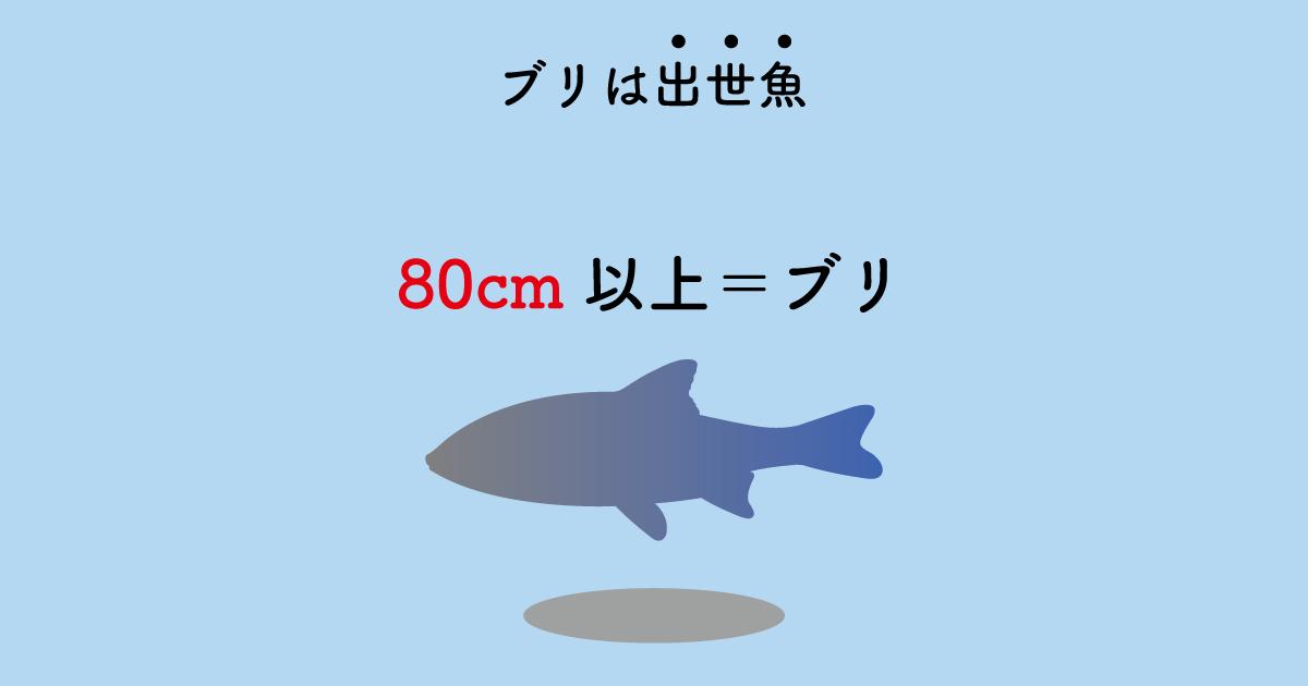 各地で呼び方が違う出世魚「ブリ」